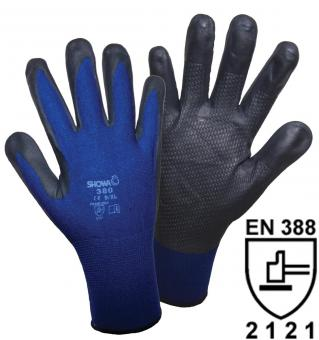 1163 SHOWA 380 NBR Foam Grip Strickhandschuh (1 Paar)