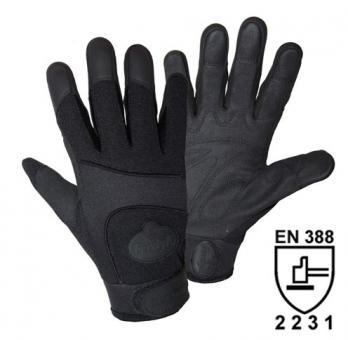 FerdyF. Mechanics BLACK SECURITY Handschuh