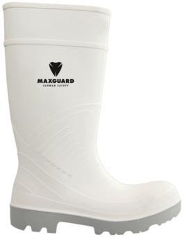 Maxguard PU800 S5 Sicherheitsstiefel, weiß