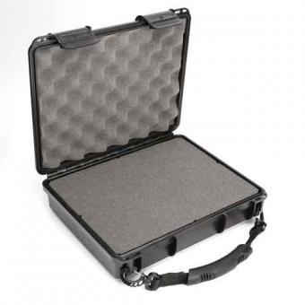 NEU! Wasserdichte UK UltraBox 312, schwarz, mit Trageschlaufe und Würfelschaum, leer