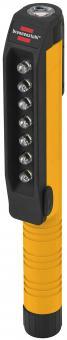 7 + 1 LED Inspektionsleuchte Penlight mit Clip und Magnet am Clip