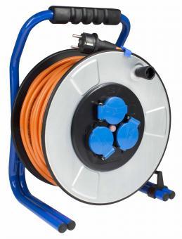 as-Schwabe 20329 IronCoat PROFI-Metall-Kabeltrommel 285mm, 33m H07BQ-F 3G2,5