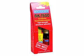 Weicon RK-1500 Konstruktions-Klebstoff Komplettpackung 60 g Klebstoff und Aktivator - flüssig