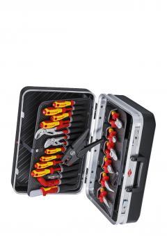 NEU! Knipex Werkzeugkoffer Elektro 20-teilig 002120, bestückt