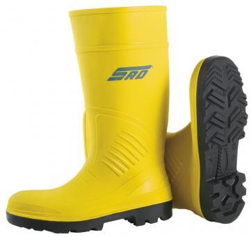 S5 Sicherheitsstiefel gelb, Light PU