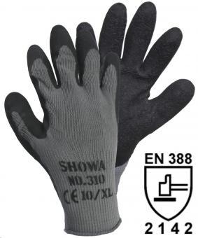 14905 SHOWA 310 Grip Black Strickhandschuh (1 Paar)