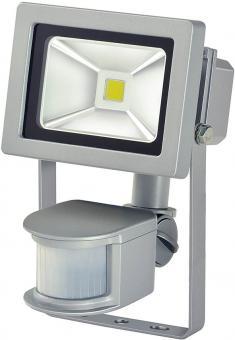 Chip LED-Leuchte 10W IP44 2m H05RN-F 3G1,0 mit Bewegungsmelder