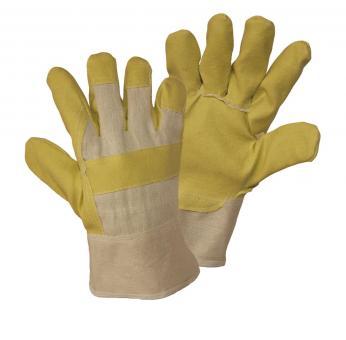PVC-Handschuh, gelb (12 Paar)