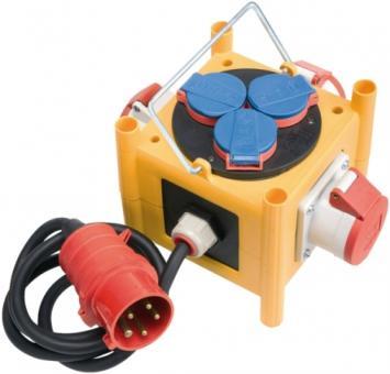Stromverteiler Mini CEE 3 IP 44 mit Anschlussleitung