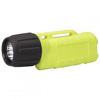 UK Helmlampe 2AA Zone 2 eLED, ET Heckschalter, neongelb Feuerwehrlampe