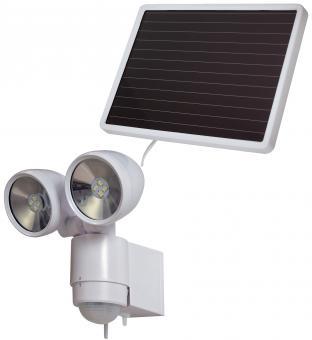 Solar LED-Spot SOL 2x4 IP 44 mit Infrarot-Bewegungsmelder