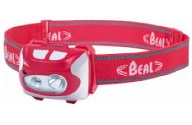 Beal Stirnlampe FF210 R, rot oder schwarz, für Outdoor-Aktivitäten