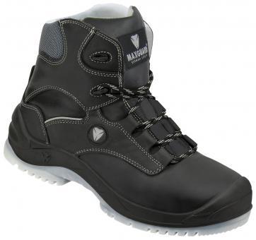 Maxguard E420Sicherheitstiefel S3, Rindleder, schwarz