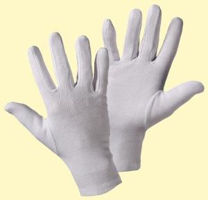 Trikot weiß/Schichtel Trikot-Handschuh 12 Paar