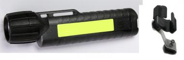Arbeitslampe 4AA CPO TS, nachtleuchtend +Helmhalterung