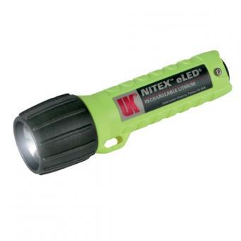 Arbeitslampe UK NITEX Wiederaufladbar eLED® neongelb
