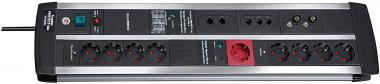 Überspannungsschutz-Automatiksteckdosenleiste Premium-Protect-Line 120.000A