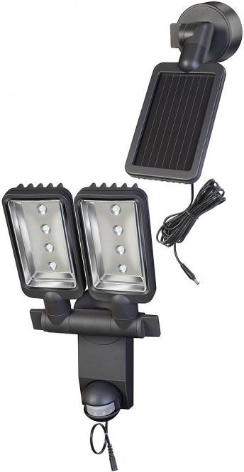 Solar LED-Strahler Duo Premium SOL SV0805 P1 IP44 mit Infrarot-Bewegungsmelder