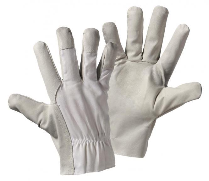 Nappa / Gewebe  Nappaleder-Handschuh
