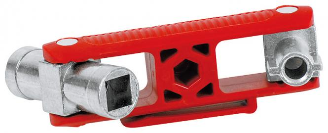 Knipex 00 11 06 V02 Universal-Schaltschrankschlüssel