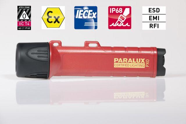 ATEX0 Taschenlampe Parat Paralux PX0