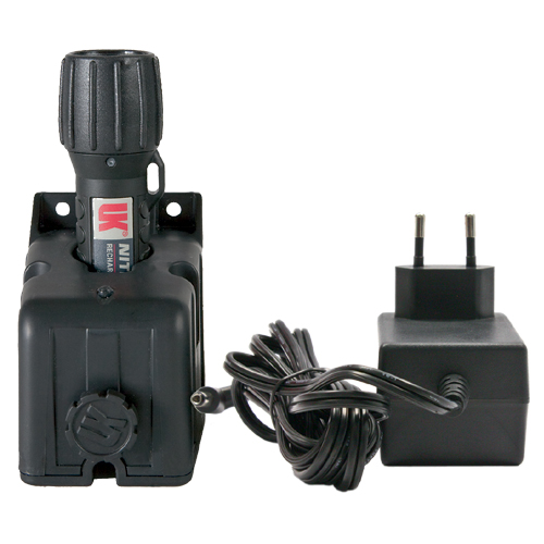 Arbeitslampe UK NITEX Wiederaufladbar eLED®  schwarz