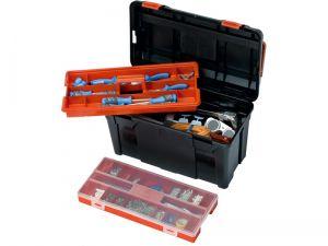 Parat Profi-Line Werkzeug-Box mit Trageeinsatz, 585 x 290 x 280 mm