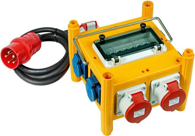 Baustellen Stromverteiler BSV 3/32 IP 44