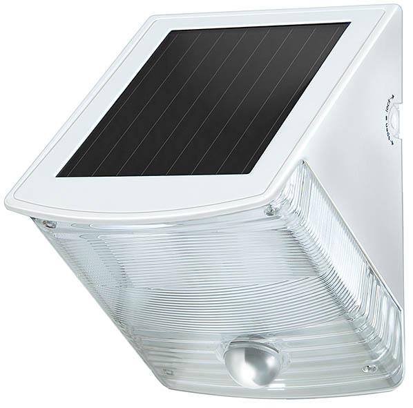 Solar LED-Wandleuchte SOL 04 IP 44 weiß