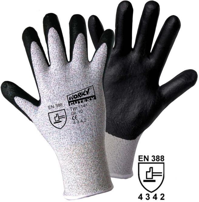 Schnittschutzhandschuh CUTEXX Dyneema® / Carbon- Nitril Foam