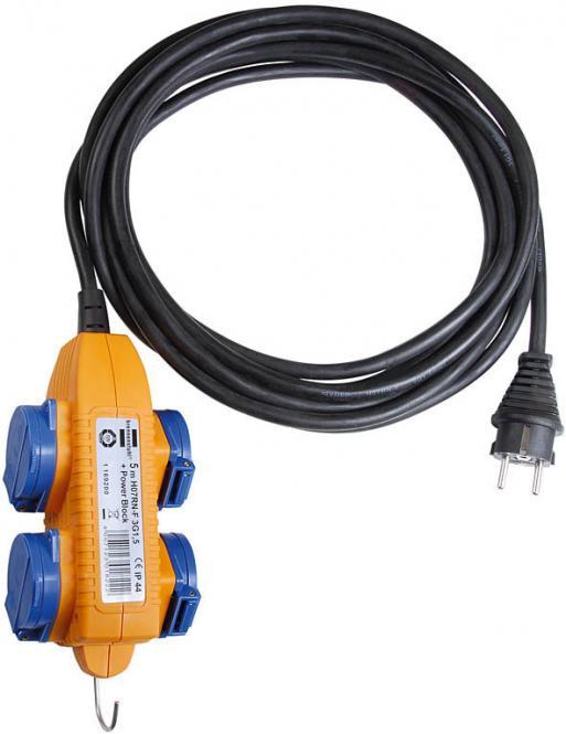 Brennenstuhl Baustellenkabel IP 44 mit Powerblock