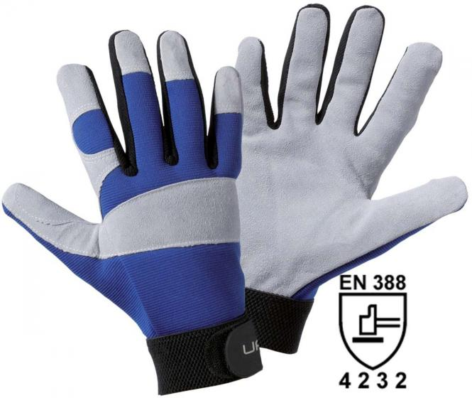 1651 Utility ISO Rindspaltleder-Handschuh Winter