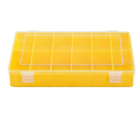 Sortimentskasten PS, 12 Fächer, gelb, 225 mm x 335 mm x 55 mm