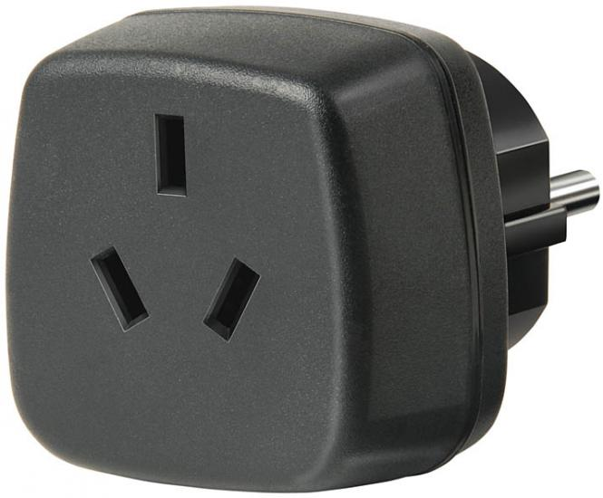 Travel Adapter Australien, China/Schutzkontakt