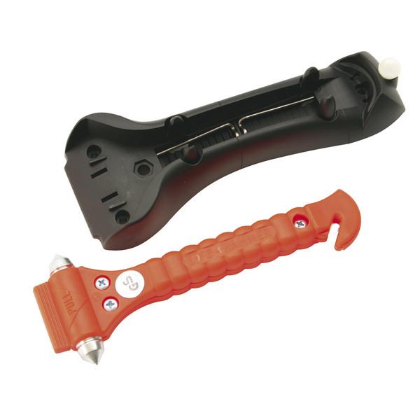 Rettungshammer Lifehammer-I, mit Wand- bzw. KFZ-Halterung