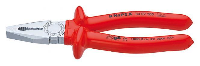 Knipex Kombizange 03 07 250 VDE-geprüft