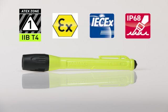 LED-Taschenlampe PX2, Hochleistungslampe PARALUX PX2 von Parat