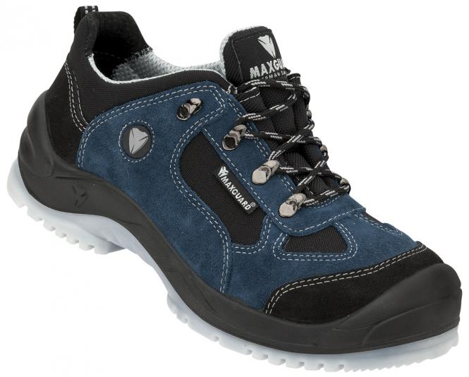 Maxguard E310 S1P Halbschuh blau-schwarz