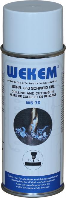 Wekem Bohr- und Schneidöl Spraydose, 400 ml