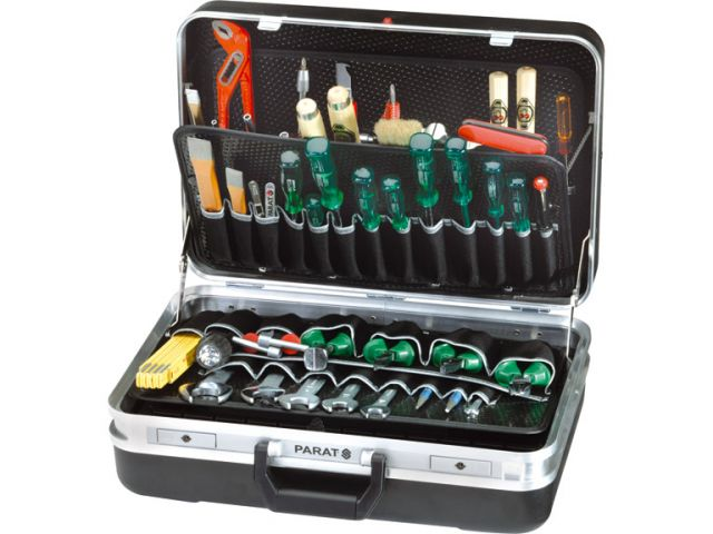 Werkzeugkoffer Silver von Parat 432.000-171, mit dem Maximum an Inneneinrichtung