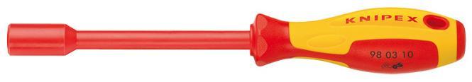 Knipex Steckschlüssel mit Schraubendrehergriff 10mm