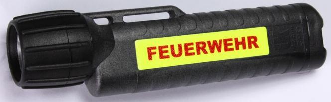 """UK 4AA eLED CPO TS Leuchtstreifen und Aufdruck """"Feuerwehr"""""""