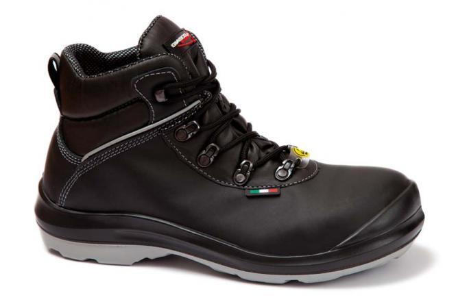 Giasco Sicherheitsstiefel S3 Canberra, schwarz, Leder, Gr. 39 - 48