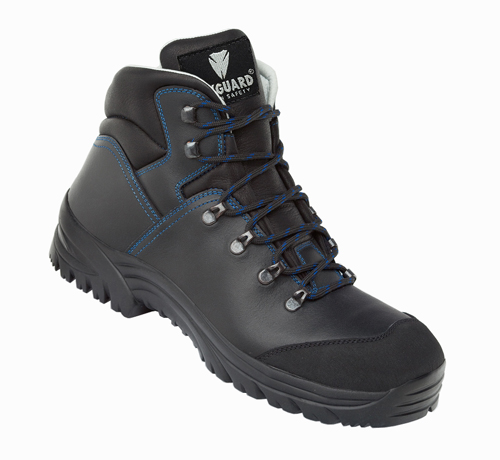 Maxguard X420 Sicherheitsstiefel S3 HRO, schwarz/blau