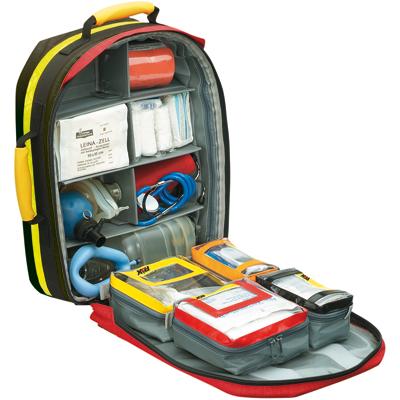 Notfallrucksack First-Responder mit Füllung DIN 13155