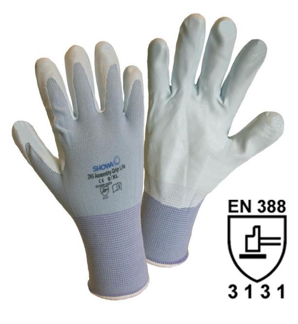 1164 SHOWA 265 Assembly Grip Lite Feinstrickhandschuh