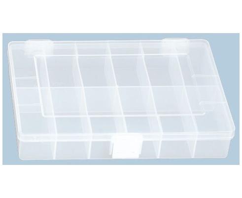 Sortimentskasten PP klein, 12 Fächer, transparent