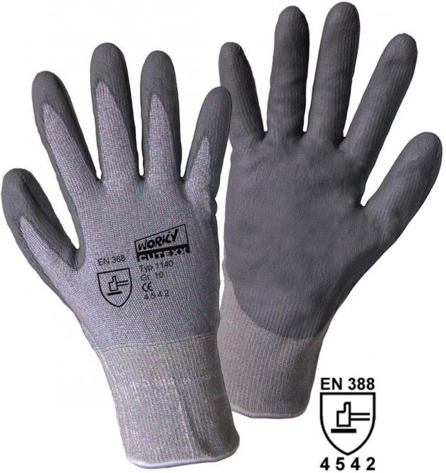 Schnittschutzhandschuhe CUTEXX HPPE/Elasthan mit Glasfaser mit PU-Beschichtung