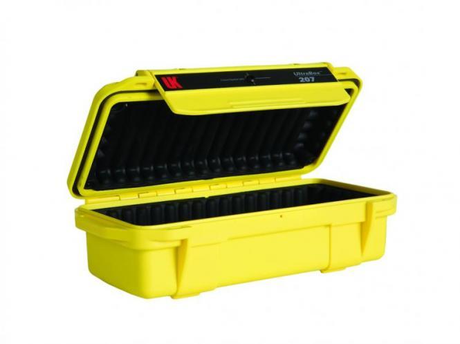 UK Ultrabox 207, gelb mit Gummipolsterung