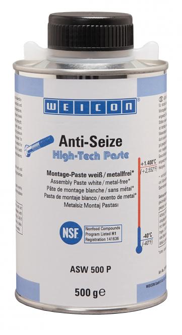 Weicon Anti-Seize ASW 500P High-Tech Montagepaste
